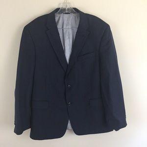 Tommy Hilfiger Wool Navy Blazer Size 44S
